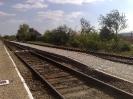 vasúti peron a harmadik vágánynál