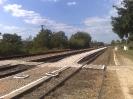 vasúti peron a második vágánynál