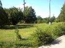 hivatal előtti park